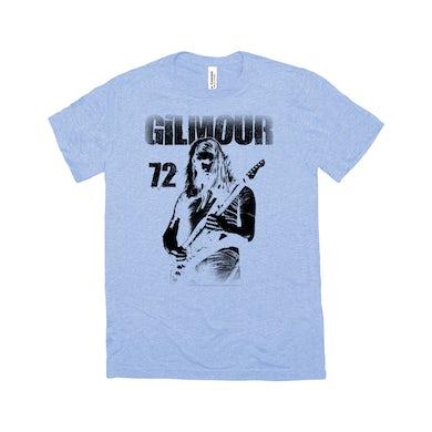Gilmour 1972 Design Distressed Shirt