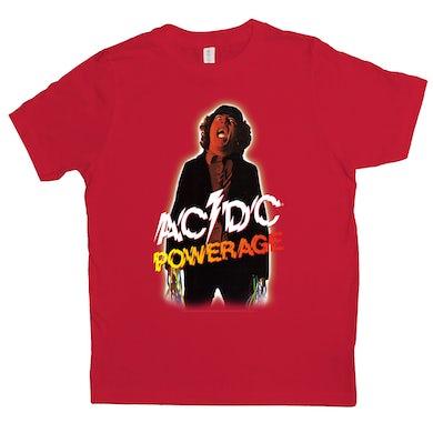 AC/DC Kids T-Shirt | Powerage Album Design ACDC Kids Shirt