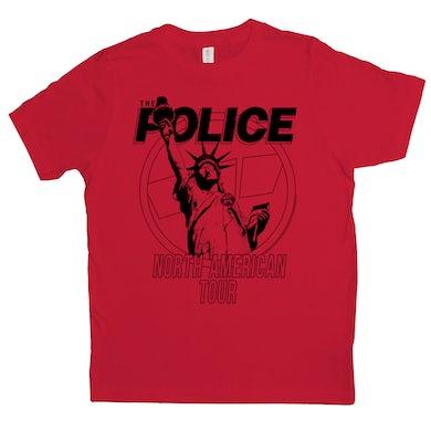 North American Tour 1983 Shirt