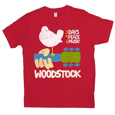 Woodstock Kids T-Shirt | 3 Days Of Peace And Music Woodstock Kids Shirt
