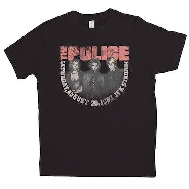 JFK Statium 1983 Concert Distressed Shirt