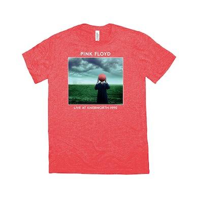 Pink Floyd Triblend T-Shirt | Live At Knebworth 1990 Album Cover Pink Floyd Shirt