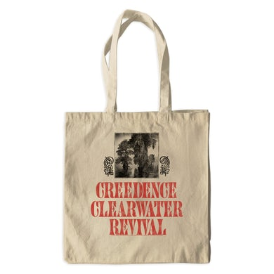 Creedence Clearwater Revival Canvas Tote Bag | Bayou Design Creedence Clearwater Revival Bag