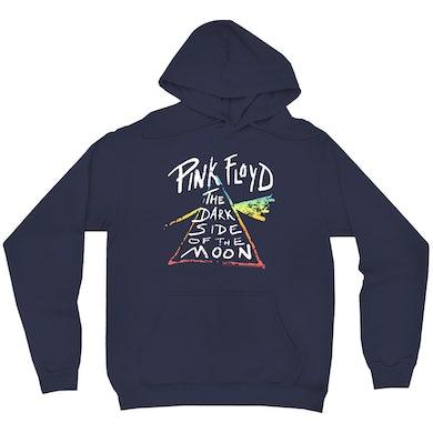 Pink Floyd Hoodie | Color Sketch Dark Side Of The Moon Ombre Pink Floyd Hoodie