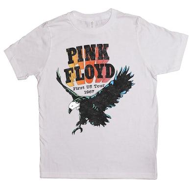 Pink Floyd Kids T-Shirt | First US Tour 1967 Pink Floyd Kids Shirt