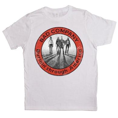Burnin Through America Design Kids Shirt