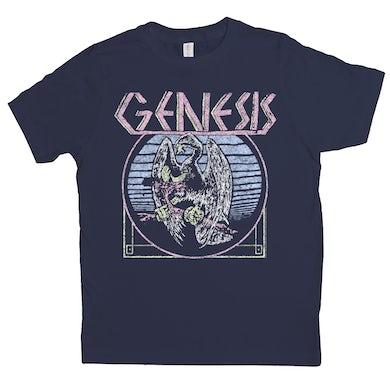 Pastel Vintage Logo Distressed Kids Shirt