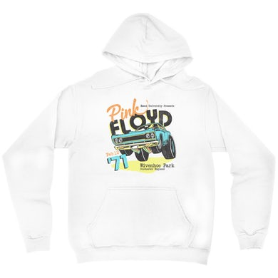 Essex University Plymouth Roadrunner Concert Promotion Distressed Hoodie