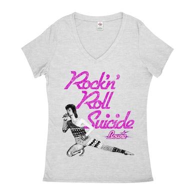 Rock N' Roll Suicide Distressed (Merchbar Exclusive) Shirt