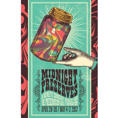 Midnight Preserves 2017 Poster - unsigned