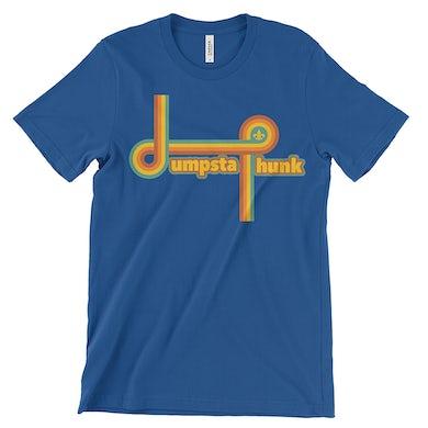 Dumpstaphunk Rainbow Logo Tee - Blue