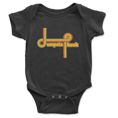 Dumpstaphunk Rainbow Onesie - BLACK