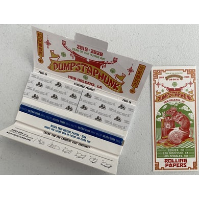 Year of the Nutria Rat Rolling Papers