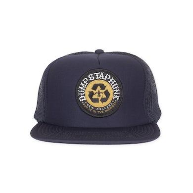 Dumpstaphunk Navy Trucker Hat