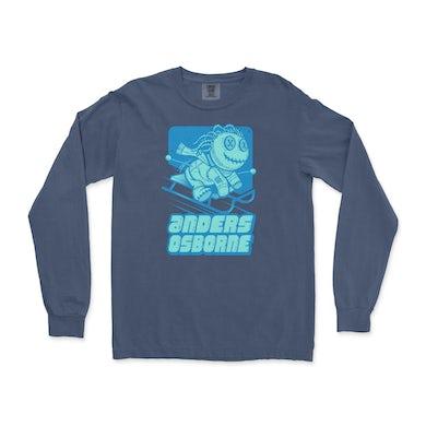 Anders Osborne Voodoo Doll Long Sleeve Shirt - Midnight - Unisex