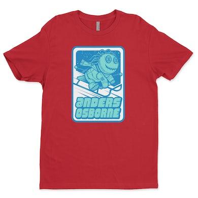 Anders Osborne Voodoo Doll T Shirt - Red - Unisex