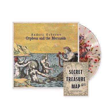 "Anders Osborne ""Orpheus and the Mermaids"" Colored Vinyl w/ Treasure Map Poster"