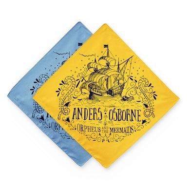 Anders Osborne Orpheus and the Mermaids Ship Bandana