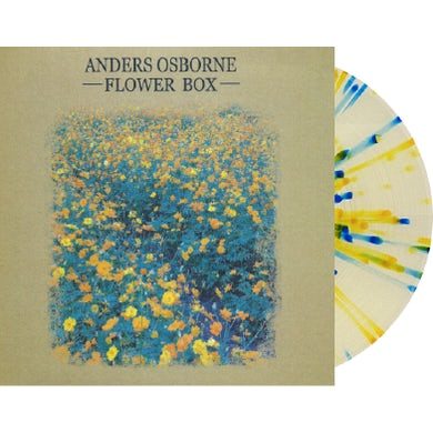 Anders Osborne PRE ORDER: Flower Box LP on Colored Vinyl