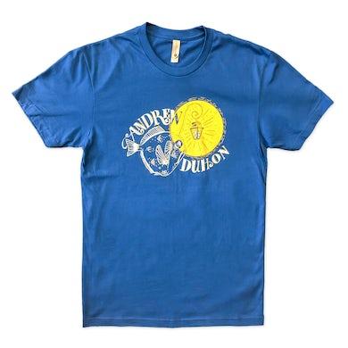 Andrew Duhon Unisex Fish Light T-Shirt - Cool Blue