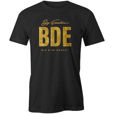 Unisex Big Diva Energy T-Shirt - Black/Gold