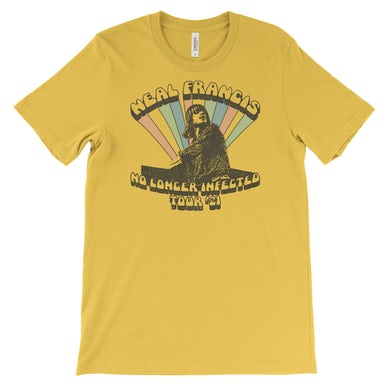 Neal Francis No Longer Infected Tee - Maize Yellow