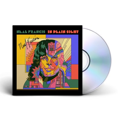 Neal Francis PRE ORDER - In Plain Sight CD - Signed