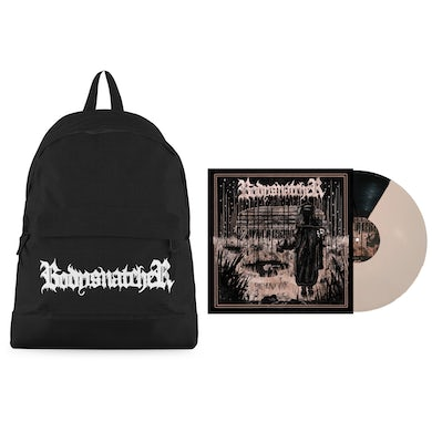 """""""Logo"""" Backpack + Two-Tone Vinyl Bundle (Limited to 50)"""
