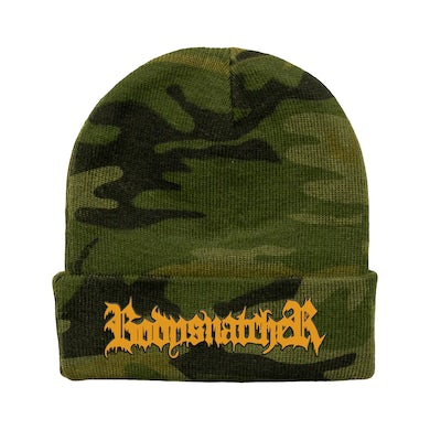 Camo Embroidered Beanie