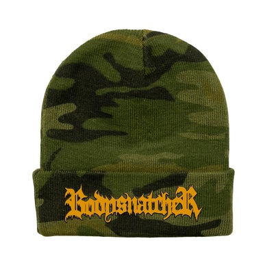 Bodysnatcher Camo Embroidered Beanie
