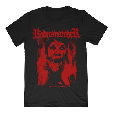 Bodysnatcher Take Me To Hell Art Tee