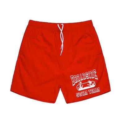 "Broadside ""Swim Team"" Beach Shorts (Pre-Order)"