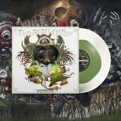 Destroy Rebuild Until God Shows D.R.U.G.S. LP on Color in Color White & Green Vinyl (Pre-Order) SOLD OUT