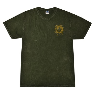 Pocket Emblem Mineral Wash Shirt