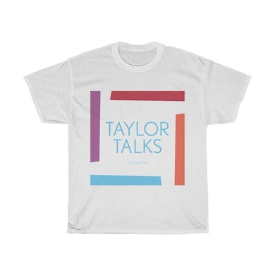 "Fantasia ""Taylor Talks"" -White Unisex"