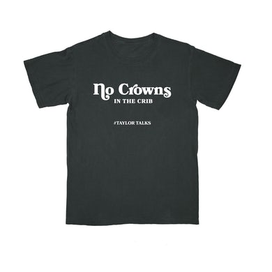 "Fantasia ""No Crowns White/black Tee"""