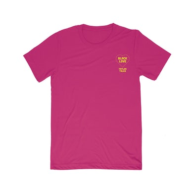 "Fantasia ""Black Love Pink/Yellow Tee"""