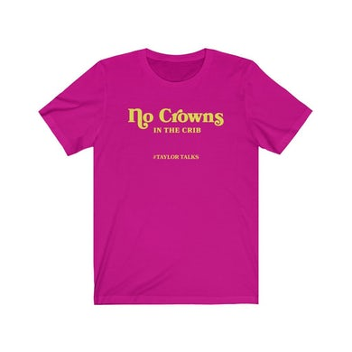 "Fantasia ""No Crowns Pink/Yellow Tee"""