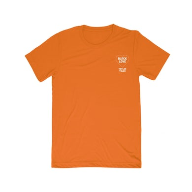 "Fantasia ""Black Love Orange/White Tee"""