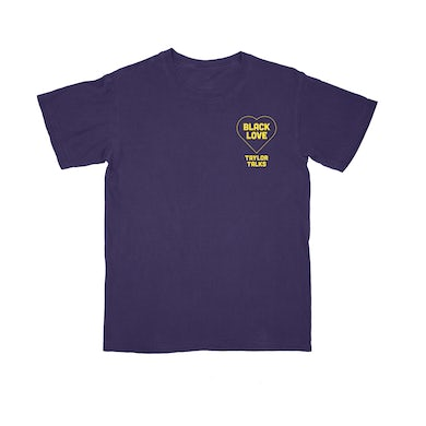 "Fantasia ""Black Love Purple/Yellow Tee"""