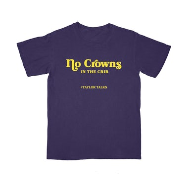 "Fantasia ""No Crowns Purple/Yellow Tee"""
