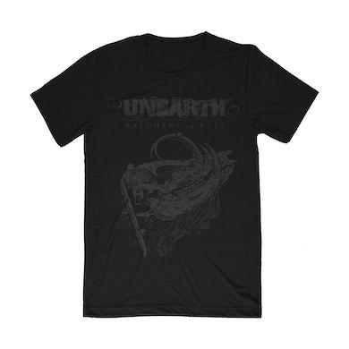 Black on Black Skull Shirt (Pre-Order)