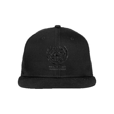 "Nuclear Power Trio - ""Logo Cap Black On Black"""