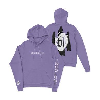 Insolent Purple Hoodie