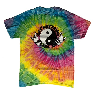 Peace Out Tie Dye Shirt