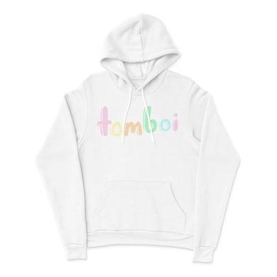 Tommy Boi Tomboi White Hoodie