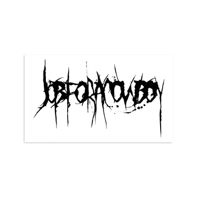 "12"" Car Decal (Pre-Order)"
