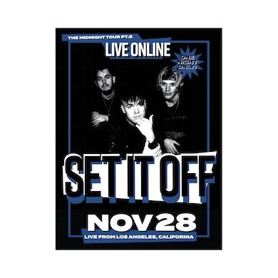 Screen Printed Livestream Poster (Pre-Order)