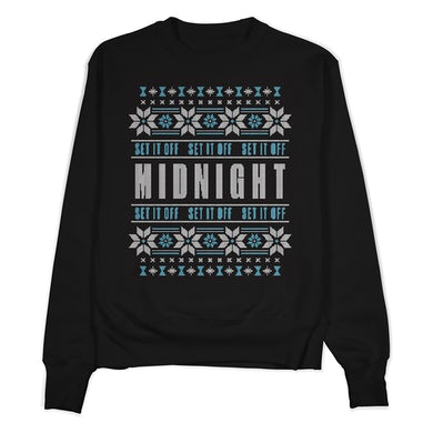 Set It Off Holiday Midnight Sweater
