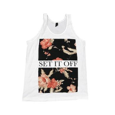 Set It Off Floral Tank